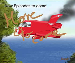 Flooney The Fly - Mobilutions.eu - dog in burning airplane