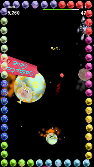 Crazy Pigs conquering Space - The new iPhone / iPod Touch /iPad Game from Mobilutions.eu